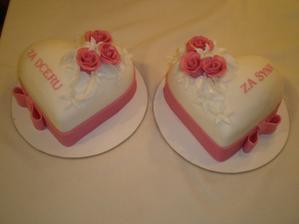 Děkovací dorty.....budou...už jsou domluveny