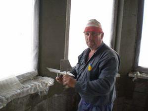 Odborník na hlin.lišty pán Majsterko...