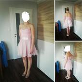 Růžové šaty s krajkou , 38
