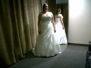me in my dress but lighting abit dark