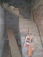 schody do podkrovia