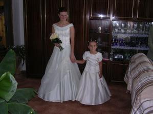 nevěsta s družičkou