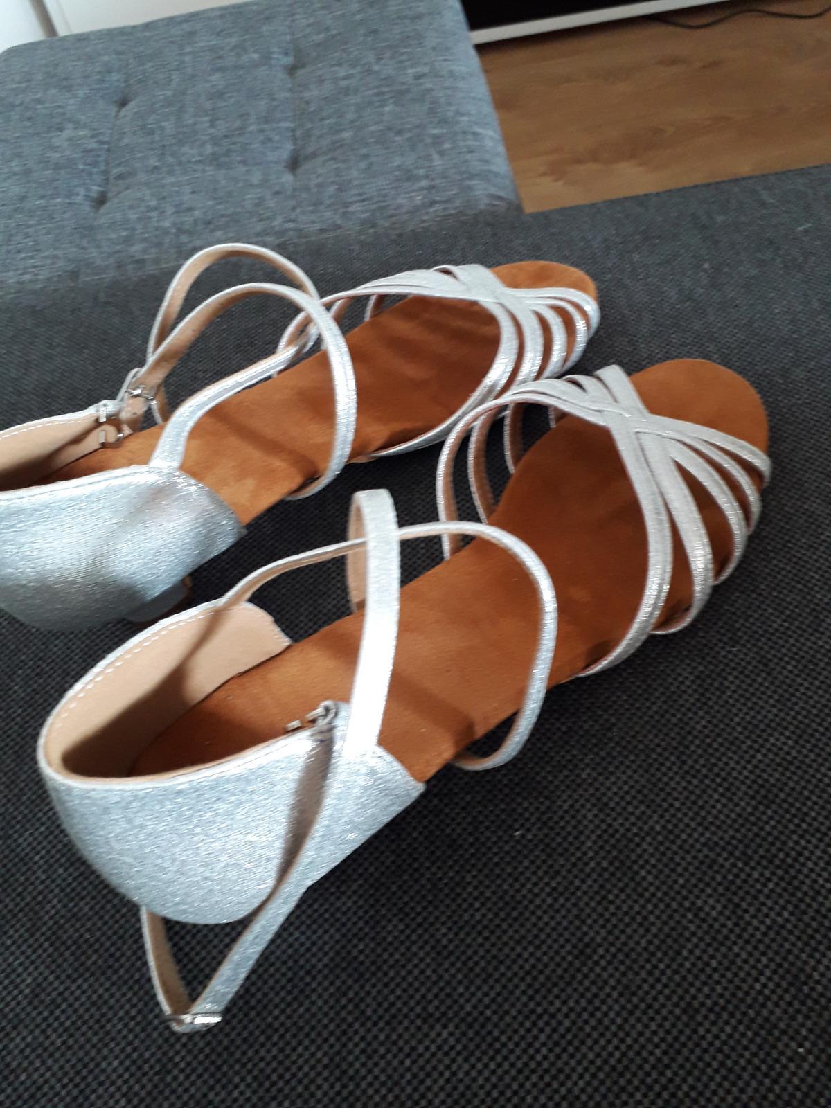 Sandále nízky opätok - Obrázok č. 2