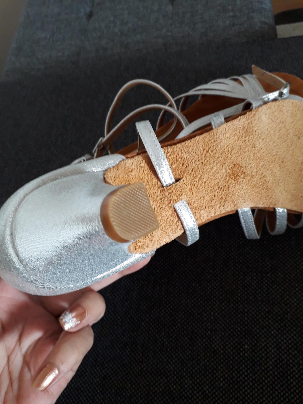 Sandále nízky opätok - Obrázok č. 3