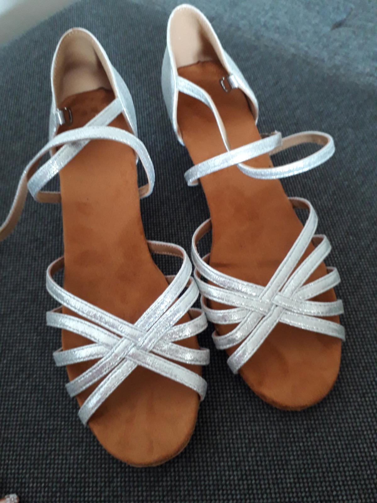 Sandále nízky opätok - Obrázok č. 4