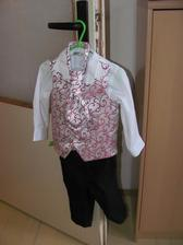 Pro svatebčánka - kdyby s ťatkou neladil, tak použijeme aspoň kalhoty a košily