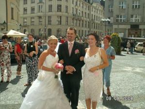 S naší kolegyňkou Andrejkou
