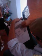 Karikaturista v akci