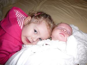 Naše babiky Maša a Lilly