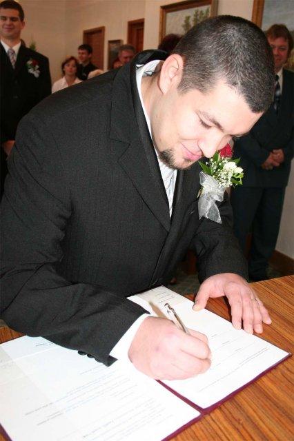 A ještě podepsat