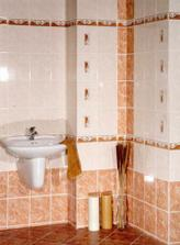 Vybrané obklady koupelny