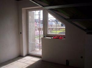 Budoucí ložnice (balkon)