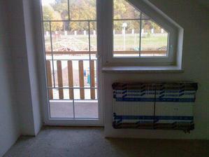 Balkon v ložnici