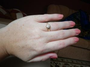 a už aj na mojej ruke :-)