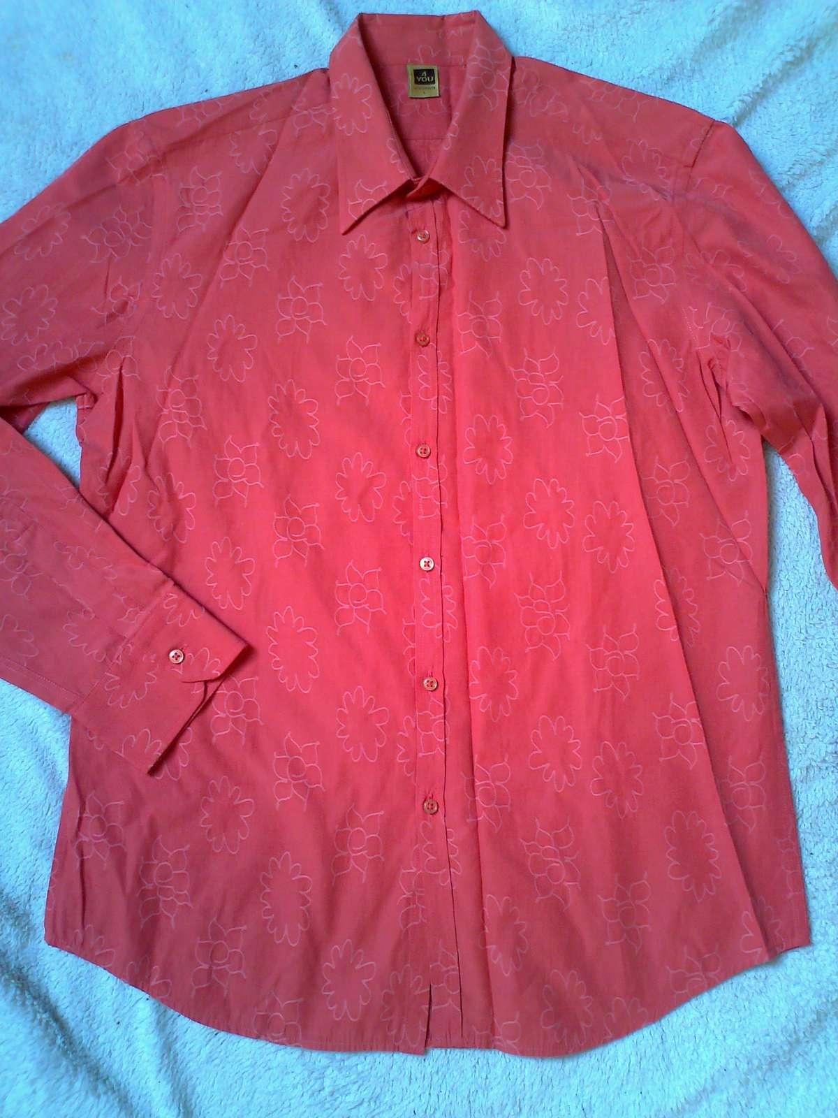 Elegantná pánska košeľa 4YOU - Obrázok č. 1