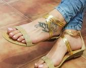 Nenosené sandálky, 38