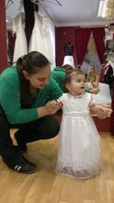 Moje svědkyně se svojí dcerou- družičkou :)