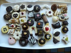 Cukroví do výslužek a na stoly