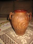 hlinená váza,
