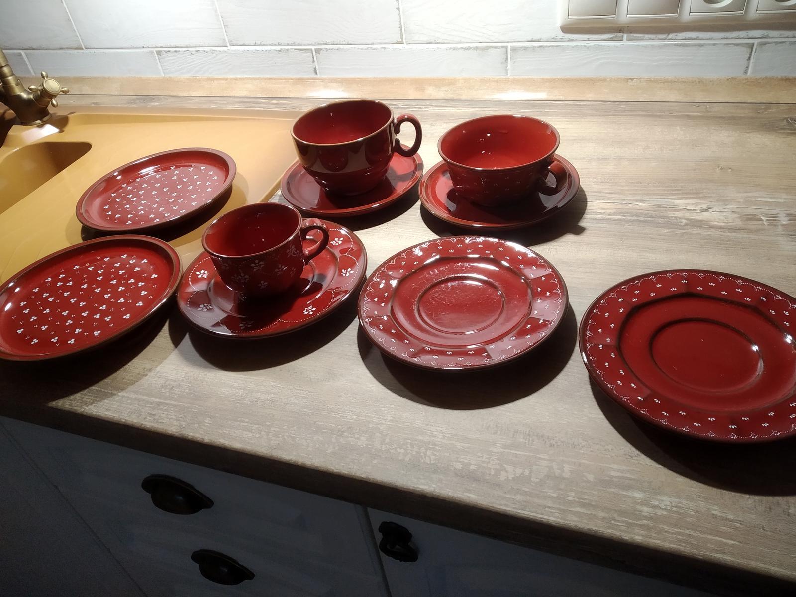 červené taniere - Obrázok č. 4
