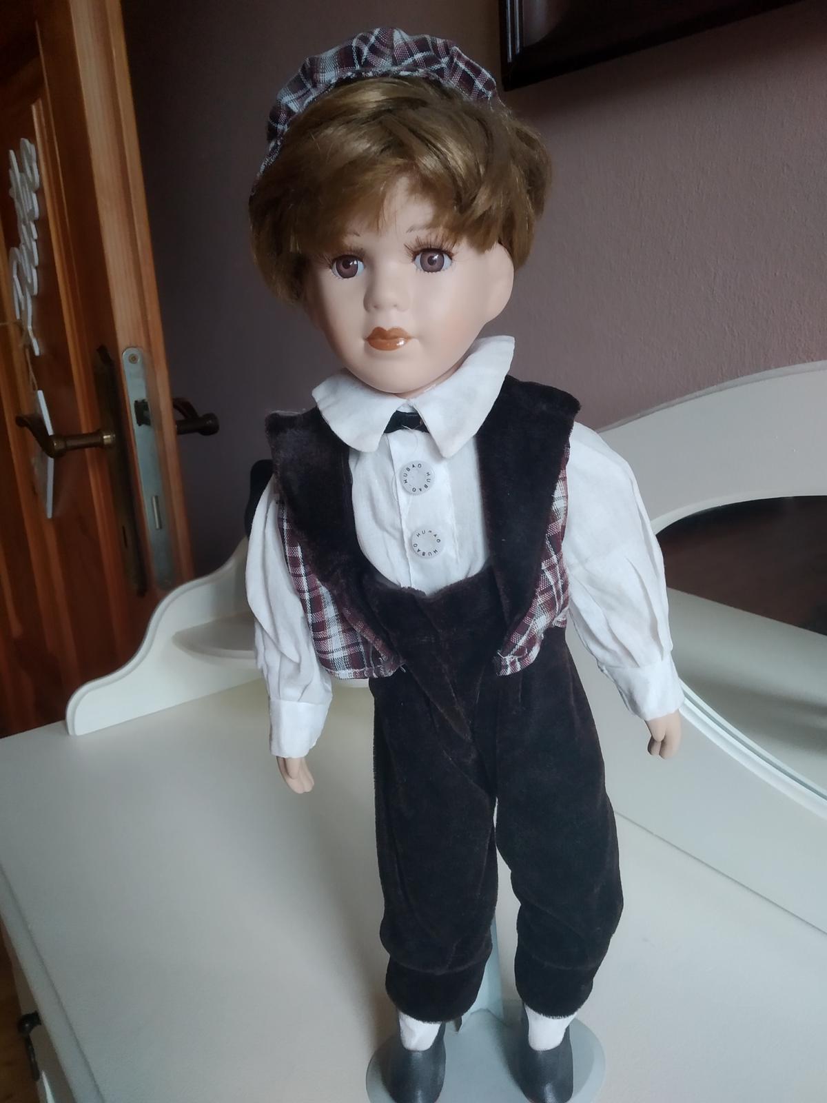 porcelánová bábika chlapec - Obrázok č. 1