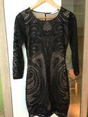 Čipkovane šaty 36, 36