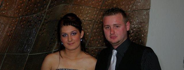 Moje predstavy o mojej svadbičke, ktora by sa mala  konať 12.9.2009 - No tak to sme my dvaja a uz sa tesime