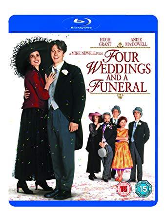 Filmy so svadobnou tematikou - 4 svadby a 1 pohreb