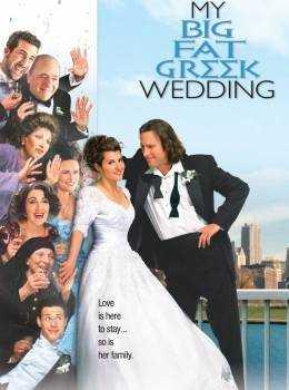 Filmy so svadobnou tematikou - Moja tučná grécka svadba