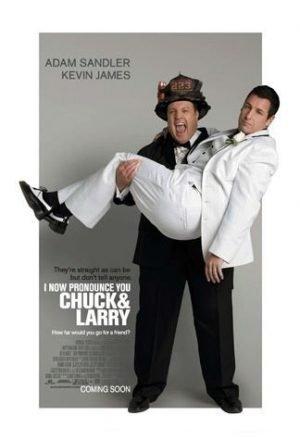 Filmy so svadobnou tematikou - Keď si Chuck bral Larryho