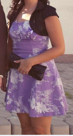 Fialové šaty - Obrázok č. 3