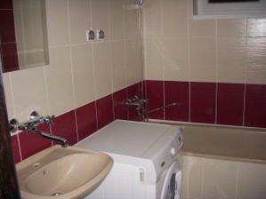 prvá kúpelňa spravená