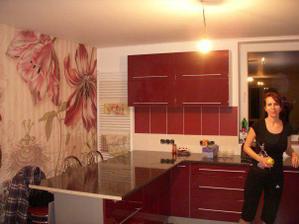 a tu je naša kuchyňa :-)