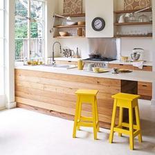 žlté barové stoličky :)