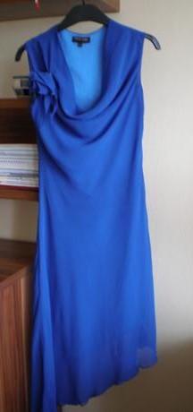 Asymetrické spoločenské šaty - Obrázok č. 1