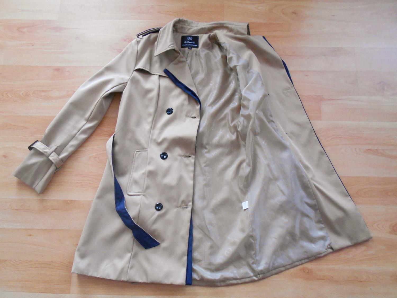 Trenčkot - prechodný kabát - Obrázok č. 1