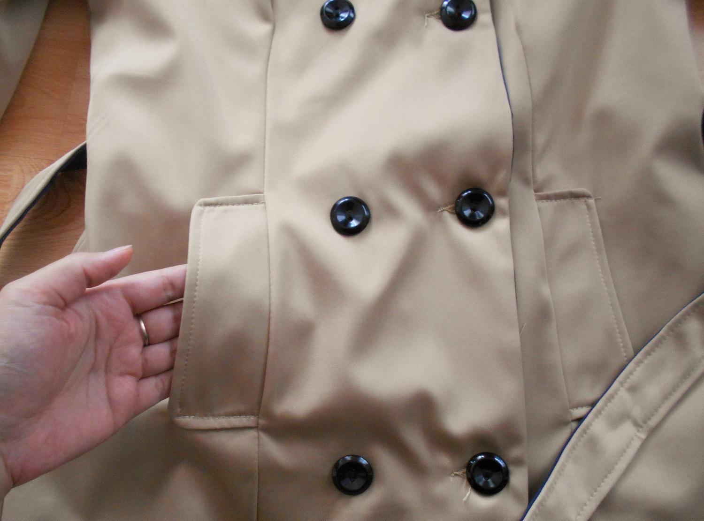 Trenčkot - prechodný kabát - Obrázok č. 3