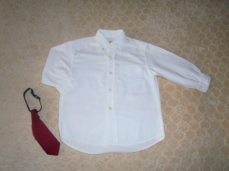 Biela bavlnená košeľa - Obrázok č. 1