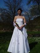 Svatební šaty značky ROMANTICA, 38