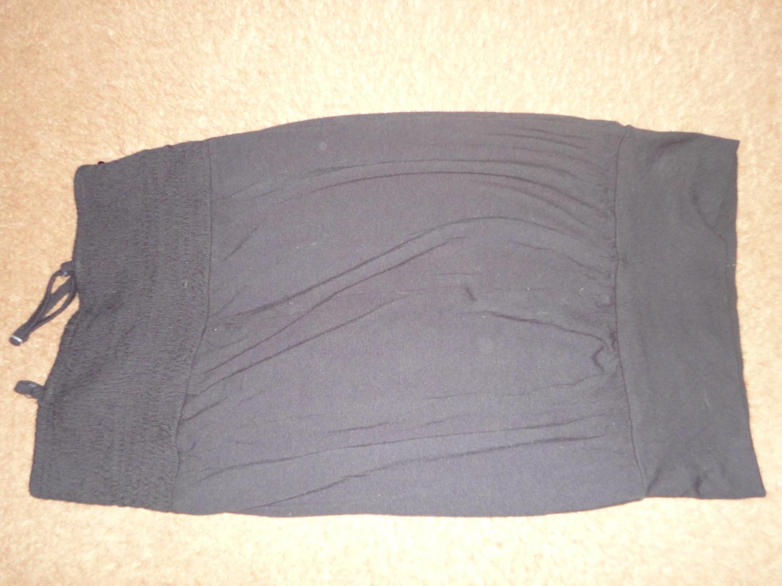 čierné tričko, tunika  - Obrázok č. 3