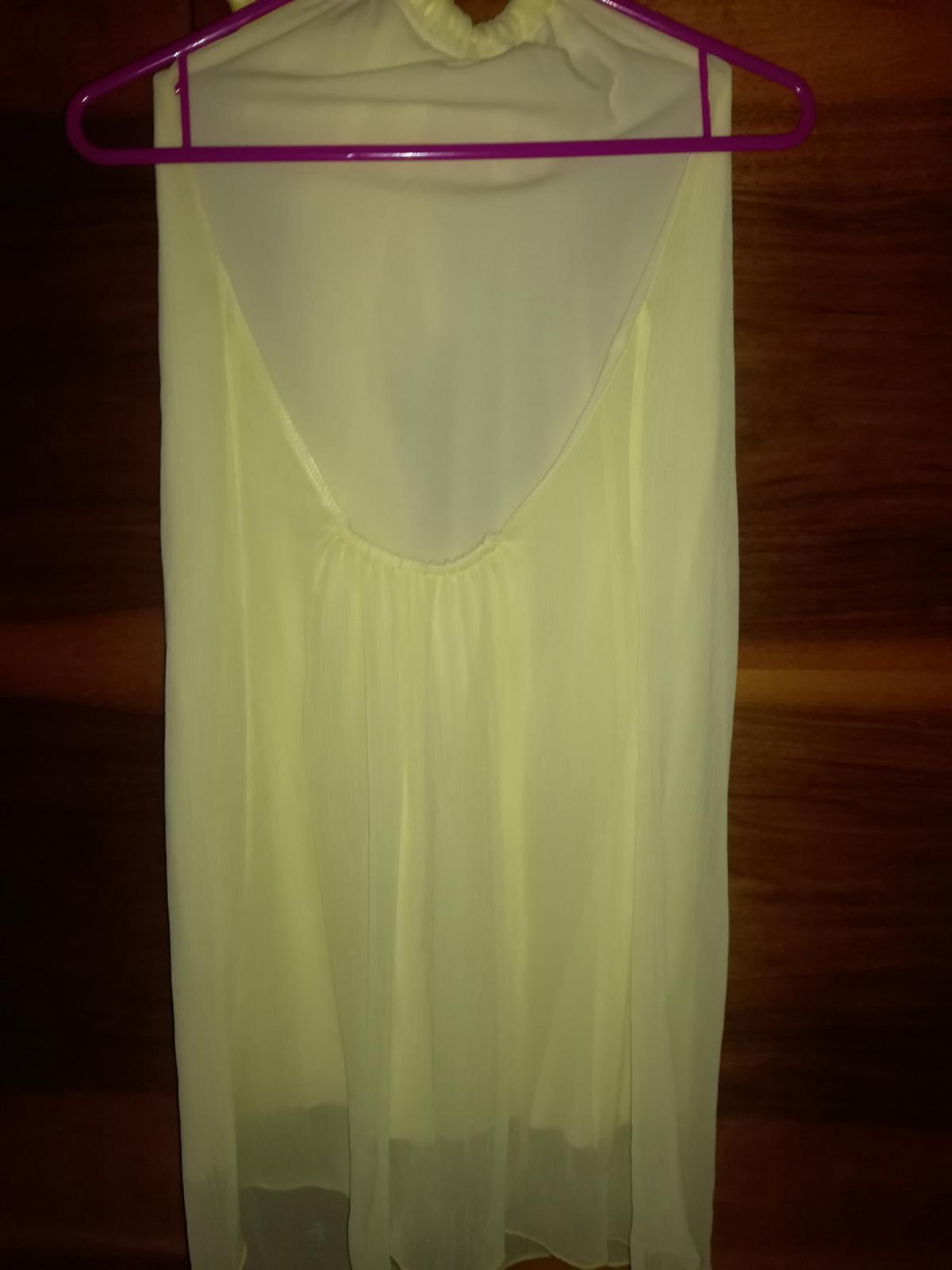 Žlté šaty s mašľou - Obrázok č. 3