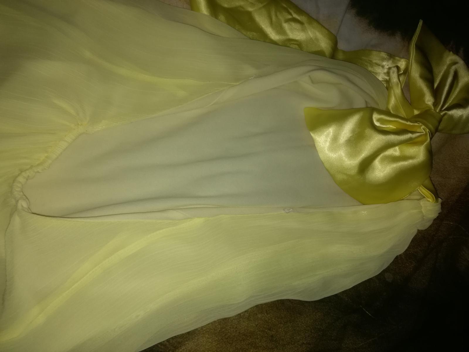 Žlté šaty s mašľou - Obrázok č. 4