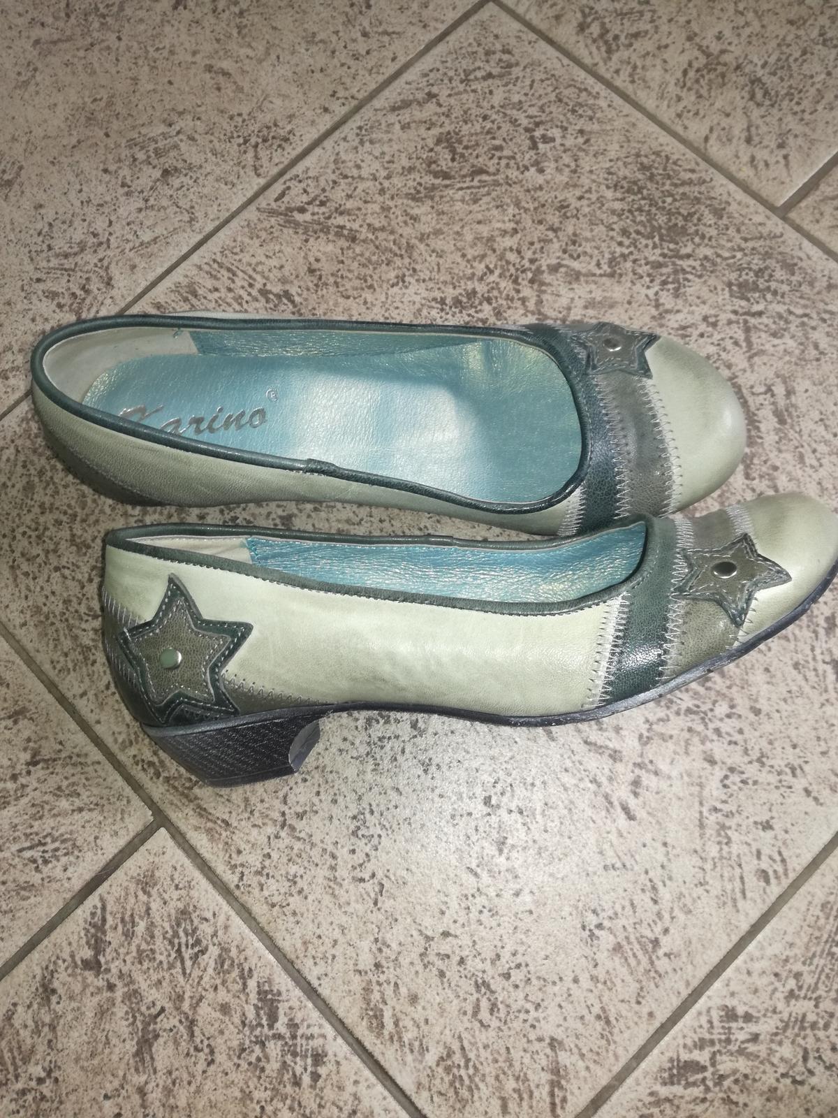 Kožené topánky - Obrázok č. 1