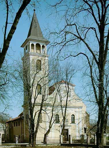 Ivka a Janik - Kostol Narodenia Panny Márie v Michalovciach