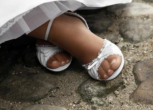 moje sandalky v skutočnosti