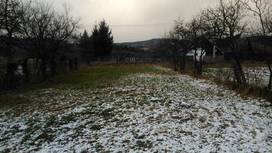Severovýchodný pohľad ešte s pozemkom v pôvodnom stave