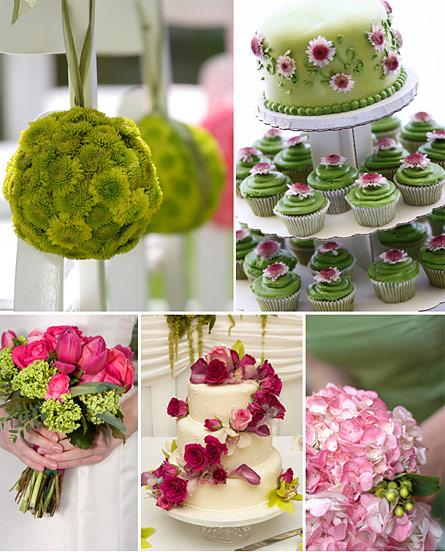 Pink+green wedding - Obrázok č. 18