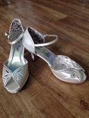 Svatební obuv Rose Scent ivory 38, 38