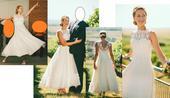 Jedinečné svatební šaty z Milana, 36
