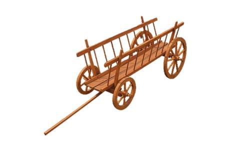 Drevený dekoračný voz na záhradu - Obrázok č. 1